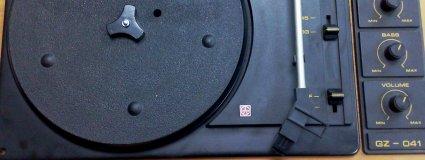Opravy starých gramofonů